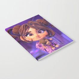 3D CHARACTER LITTLE MARY Notebook