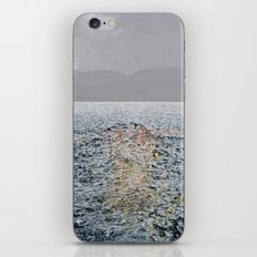 Swimming under the rain iPhone & iPod Skin