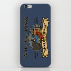 Meet the Missus Tea iPhone & iPod Skin