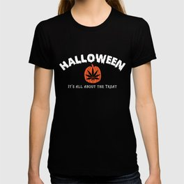 All About the Treat Cannabis Tee T-shirt