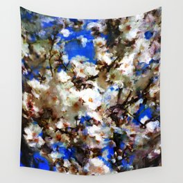 Receiving the spring Wall Tapestry