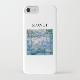 Monet - Water Lilies iPhone Case