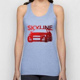 Nissan Skyline GT-R  - classic red - Unisex Tank Top