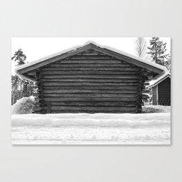 Woodshed Canvas Print