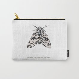 Giant Leoprd Moth Carry-All Pouch