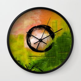 Enso No.MM13I by Kathy Morton Stanion Wall Clock