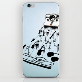 musical moment iPhone Skin