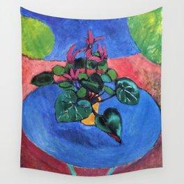 Cyclamen Pourpre - Henri Matisse Wall Tapestry