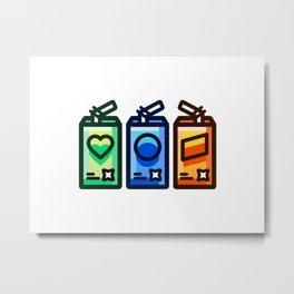 Juice Metal Print