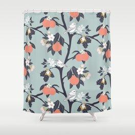 MAMA ROSA GARDEN - BIRD Shower Curtain