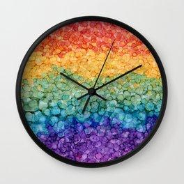 Variegation Wall Clock