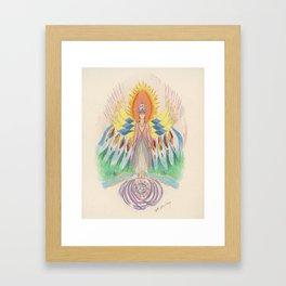 Protecting Spirit Framed Art Print
