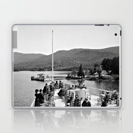Vintage Lake George: Huletts Landing Laptop & iPad Skin