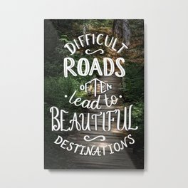 Beautiful Destinations Metal Print