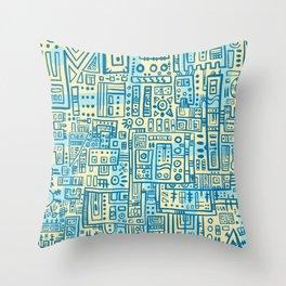 So Long Automaton Throw Pillow