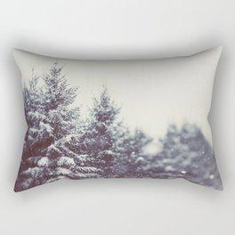 Winter Daydream #2 Rectangular Pillow