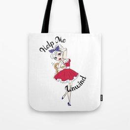 Dancing Doll Tote Bag