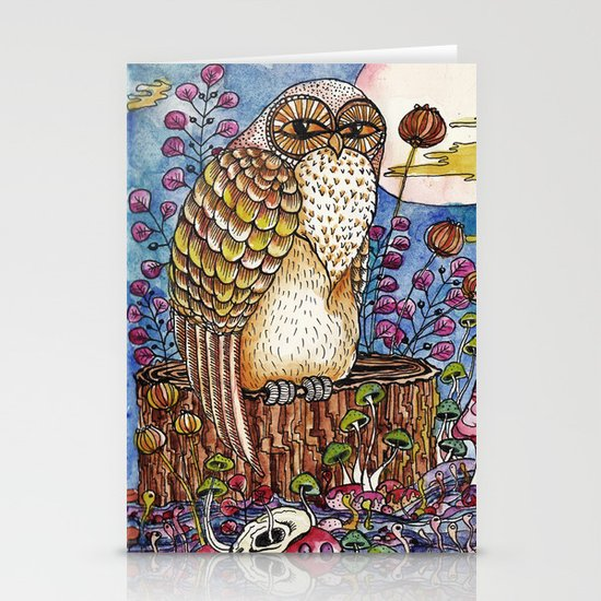 Staring at you Stationery Cards