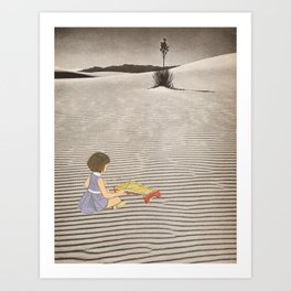 Sand Sound Art Print