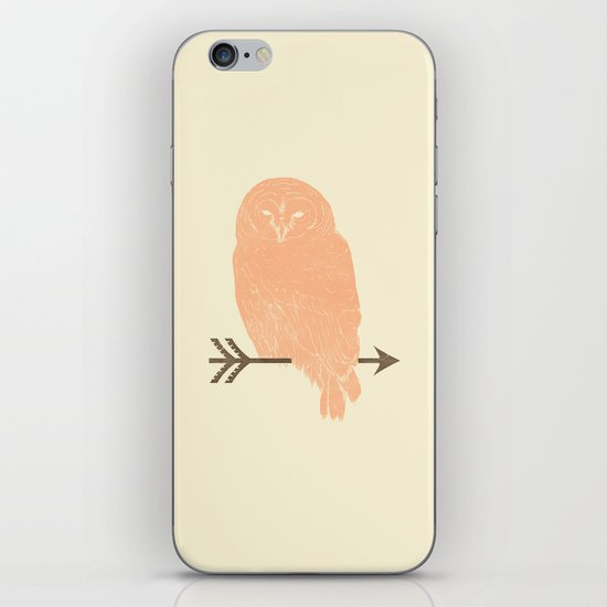 Owl and Arrow iPhone & iPod Skin