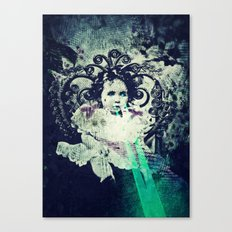 Butterfly Child Canvas Print