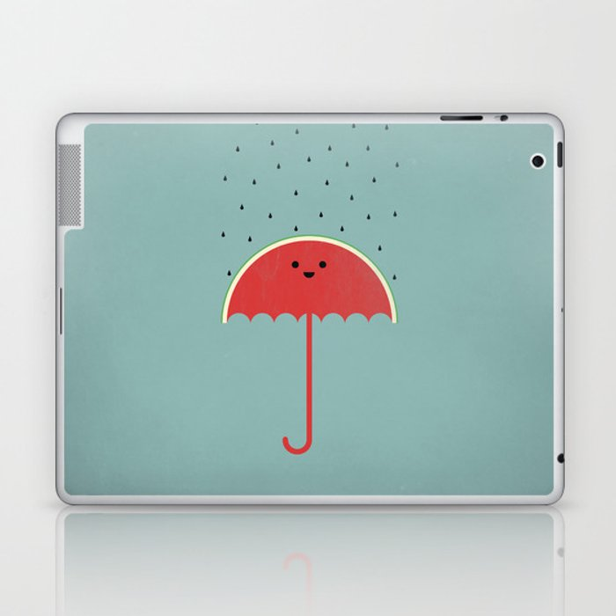 Watermelon Umbrella Laptop Ipad Skin By Filiskun Society6