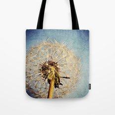 Dandelion Texture Tote Bag