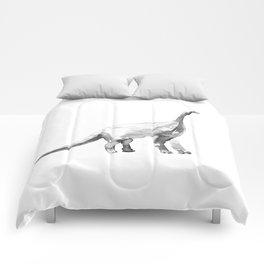 Diplodocus / bw. Comforters