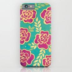 Watercolour Roses iPhone 6s Slim Case