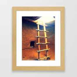 Down in the Kiva Framed Art Print