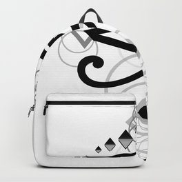 Eye Of Horus (Yin Yang Crest) - 2 Backpack