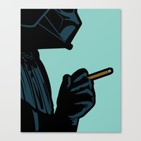 the secret life of heroes Canvas Prints featuring The secret life of heroes - DarkBreath by Greg-guillemin