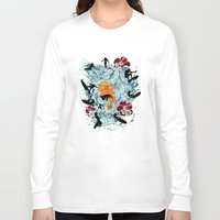 waves Long Sleeve T-shirts featuring Waves by Ewan Arnolda