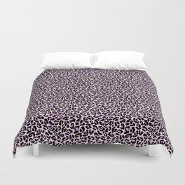 Pastel leopard fur II Duvet Cover