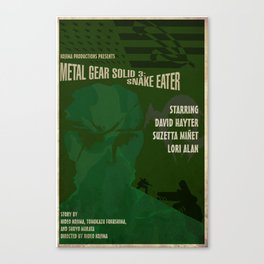 MGS3 Poster Canvas Print