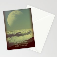 Set Your Goals High Stationery Cards