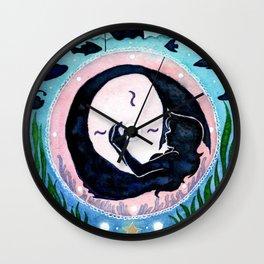Sea-Themed Matryoshka Wall Clock