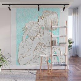 Silent love Wall Mural