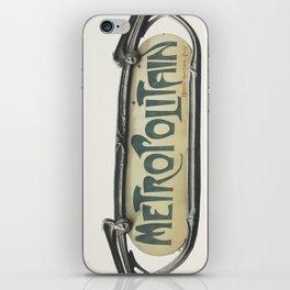 Metropolitain iPhone Skin