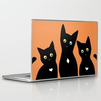 kittens Laptop & iPad Skins featuring Kittens by Bolkonsky