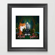 OMMMM! (Sweet ohm) Framed Art Print