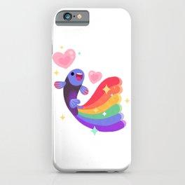 Rainbow guppy 6 iPhone Case