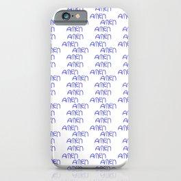 amen 5 iPhone Case
