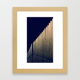 ORGAN PIPES Framed Art Print