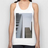 oakland Tank Tops featuring oakland by jared smith