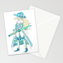 Samurai Rosalina Stationery Cards