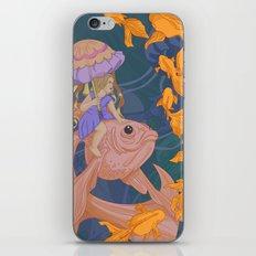Deep Sea Stroll iPhone & iPod Skin