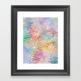 Summer Pattern #3 Framed Art Print