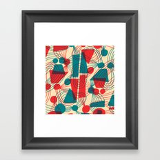 Floating Thoughts Framed Art Print
