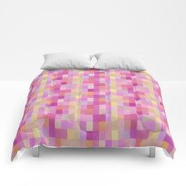 Bright Checkerboard Pattern Comforters